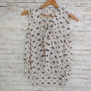 MUST HAVE SHEER SLEEVELESS TOP(565)